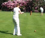 Spring at the Nottingham Croquet Club